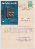 DÜSSELDORF LICHT UND KRAFTVERTEILUNGSKÄSTEN KLÖCKNER KÖLN BAYENTHAL DEUTSCHES REICH POSTKARTE OLYMPISCHE SPIELE 1936 - Allemagne
