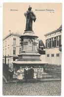 CPA PK  NIVELLES  MONUMENT TINCTORIS  CARTE ANIMEE - Belgique