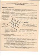 Aunay Sur Odon - Elections Conseil Général 17/4/1955 - Professions De Foi Candidats - Vecchi Documenti