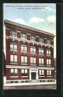 AK Baltimore, MA, College Of Dental Surgery, North Howard Street - Etats-Unis