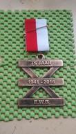 Medaille / Medal - Medaille - Wandelvereniging 75 Jaar 1941-2016 / Hiking Club 75 Jaar 1941-2016 - The Netherlands - Pays-Bas