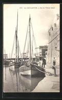 CPA La Goulette, Sur Le Vieux Canal - Tunisie