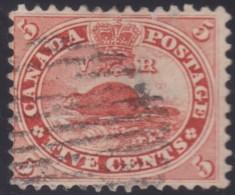 Canada      .     Scott      .    15   . 12x12      .     O    .    Cancelled     .   /    .   Gebruikt - 1851-1902 Regering Van Victoria