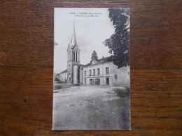 """CORRE.70.CPA """"l'église Et La Mairie"""". - Autres Communes"""