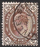 Cape Of Good Hope 1902. 2d Brown (wmk Anchor). SACC 67, SG 72. - Südafrika (...-1961)