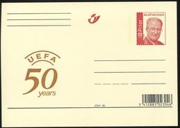"""2004 """"UEFA"""" 50 Years - Entiers Postaux"""