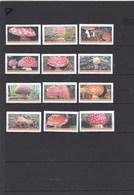 18 Timbres Ou Vignettes Champignon Amanite Tue Mouche Mushroom Cogumelo  Setas - Pilze