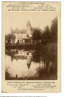 Château Pellenberg - 51 Avenue De Vilvorde - Machelen - Vanderschueren Propr. Plan Au Dos - 2 Scans - Machelen