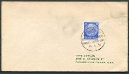 1936 Germany Deutsche Seepost Hamburg - Amerika Linie Ship Cover ORINOCO - Briefe U. Dokumente
