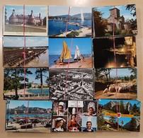 Lot De 2700 CPM GF France - Etranger - Cartes Postales