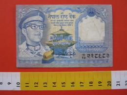 BN.01 BANCONOTA USATA VEDI FOTO - NEPAL  1 RE ANTILOPI - Népal