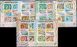 ITALIEN 1990 Mi-Nr. Block 3/8 ** MNH - 1946-.. République