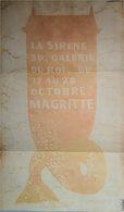 Affiche Exposition Magritte à Bruxelles,1953 - Affiches