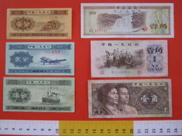 BN.01 BANCONOTA USATA VEDI FOTO - CINA 6 PEZZI - Cina