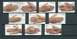 2000 Netherlands Complete Set Greetings Used/gebruikt/oblitere - Periode 1980-... (Beatrix)