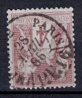"""BELLE OBLITERATION CAD """" IMPRIMÉS PP 16 PARIS """" De 1885 Sur SAGE 4c N° 88 - 1876-1898 Sage (Type II)"""