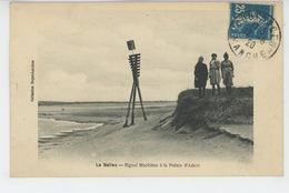 COUTAINVILLE - LA BALISE - Signal Maritime à La Pointe D' AGON - Autres Communes