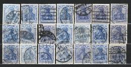 Allemagne - Deutsches Reich - 1902 à 1915 - Michel  20 Pf - Lot Divers - - Alemania