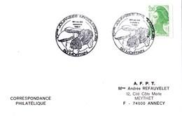 Enveloppe Salon Champignon Avec Cachets Commémoratifs - Pilze