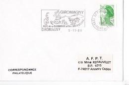 Enveloppe Cachet Champignon - Pilze
