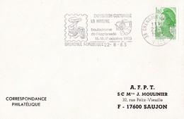 Enveloppe Cachet Temporaire Champignon - Pilze