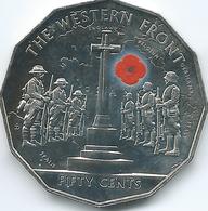 Australia - Elizabeth II - 2014 - 50 Cents - Western Front - Monnaie Décimale (1966-...)