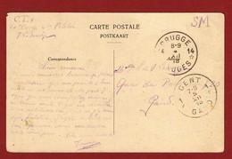Noodstempel Brugge 14 Van 4/12/18 Naar Gent - Postmark Collection