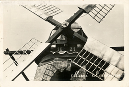 Voorburg, De Vlieger, Poldermolen, Windmill, Real Photo, Mooi Nederland - Watermolens