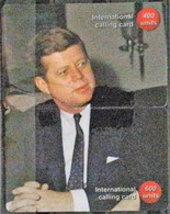 John F. Kennedy - 1 Puzzle From 2 Cards  RARE!!! - Personnages