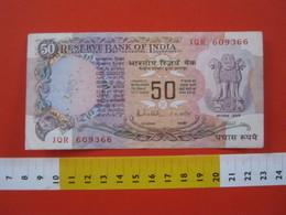 BN.01 BANCONOTA USATA VEDI FOTO - INDIA 50 RUPIE - India