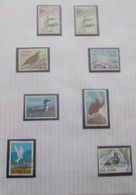 """Thématique """"Oiseaux"""" Timbres Obl. Et F.D.C. D,Islande (7 Scans) - Collections, Lots & Series"""