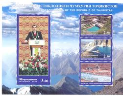 2011. Tajikistan, 20y Of Independence, S/s Perforated, Mint/** - Tadschikistan