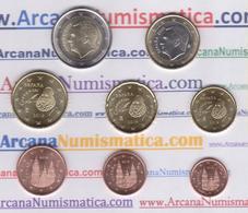 ESPAÑA  /  SPAIN  2€  2.019  2019  SET 8 MONEDAS / COINS  SC/UNC   T-DL-12.274 - España