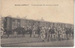 Bourg-Léopold - Embarquement Des Chasseurs à Cheval - 1912 - Uitg. Ph. Mahieu, Leopoldsburg - Leopoldsburg (Camp De Beverloo)