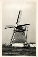 Rijswijk, Schaapweimolen, Poldermolen, Windmill, Real Photo, - Watermolens