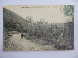 Hambye.   Ruines De L'Abbaye (vue Prise Du Pont). - Autres Communes