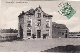 COURRIERE ENTITE ASSESSE HOTEL DE LA GARE - Assesse