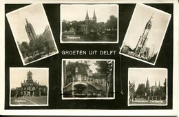 006746  Groeten Uit Delft  Mehrbildkarte Mit Faltleporello - Delft