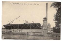 59 NORD - MASNIERES La Sucrerie Vue Des Bords Du Canal (voir Descriptif) - France