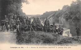 95 - Val D' Oise / L' Isle Adam - 952196 - Section De Mitrailleuses - L'Isle Adam