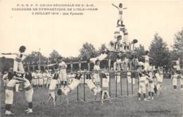 95 - Val D' Oise / L' Isle Adam - 952219 - Concours De Gymnastique - - L'Isle Adam
