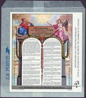 FRANCE / 1989 / Y&T N° 2596/2599 En Bloc Ou BF N° 11 (Déclaration Droits De L'Homme) Etat Parfait - Blocchi & Foglietti