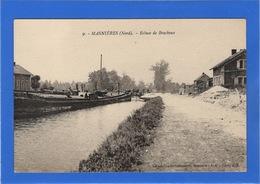 59 NORD - MASNIERES Ecluse De Bracheux (voir Descriptif) - France