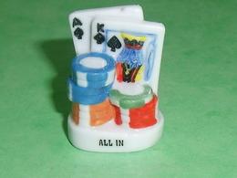 Fèves / Autres / Divers / Jeux De Cartes : Jeu De Carte : Poker , All In   T92 - Otros