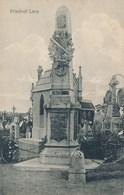 62) LENS : Monument De 1870 - Friedhof Lens (carte Allemande)  Feldpost 1.1.1917 - Lens