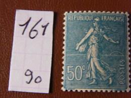 Semeuse Lignee No 161 Neuf ** - 1903-60 Sower - Ligned