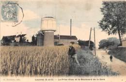 95 - Val D' Oise / Louvres - 952286 - La Prise D'eau Et Le Boulevard De La Gare - Louvres
