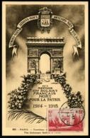 FRANCE - N°403 Obl Sur 3 Cartes Différentes Dont 2 Cartes Maximum (1938) - TB - France