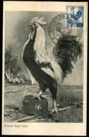 FRANCE - N°632 Obl 1/IV/1945 De PARIS S/Carte Maximum - TB - Storia Postale