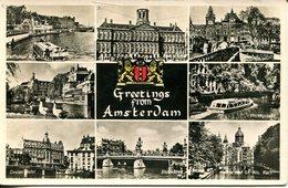 006751  Greetings From Amsterdam  Mehrbildkarte - Amsterdam